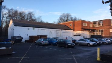 Factory / Warehouse Building with Parking For Sale