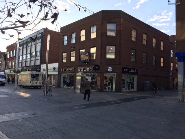 PRIME MODERN RETAIL/OFFICE BUILDING WITH REAR CAR PARK FOR SALE