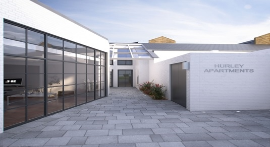NEW BUILD COURTYARD RESIDENTIAL/OFFICE DEVELOPMENT – B1 OFFICE FOR SALE
