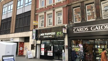 CENTRAL LONDON – SHOP LEASE FOR SALE