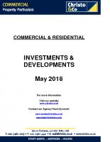 Investments & Developments
