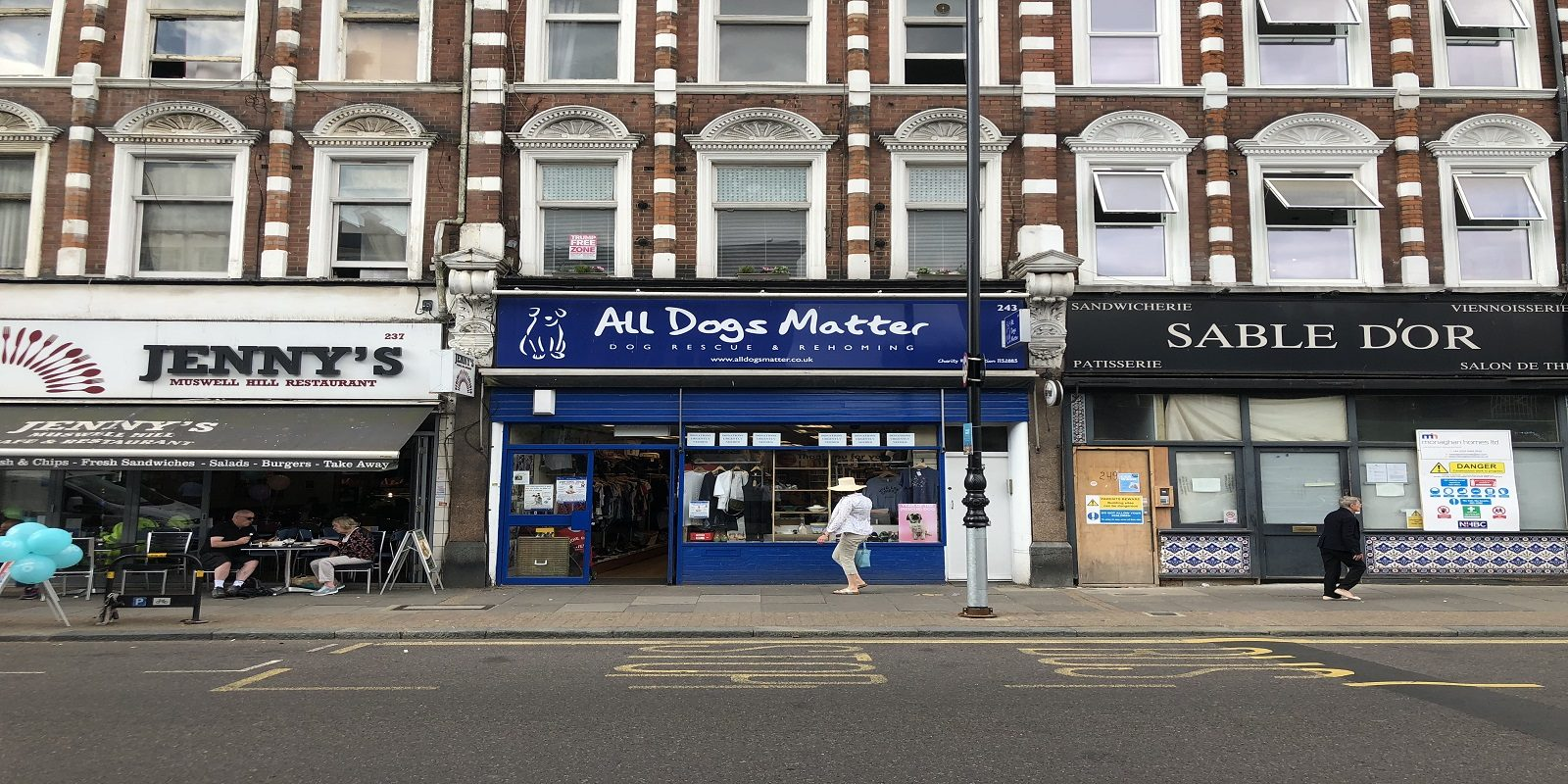 PRIME LOCATION RETAIL PREMISES IN MUSWELL HILL – TO LET
