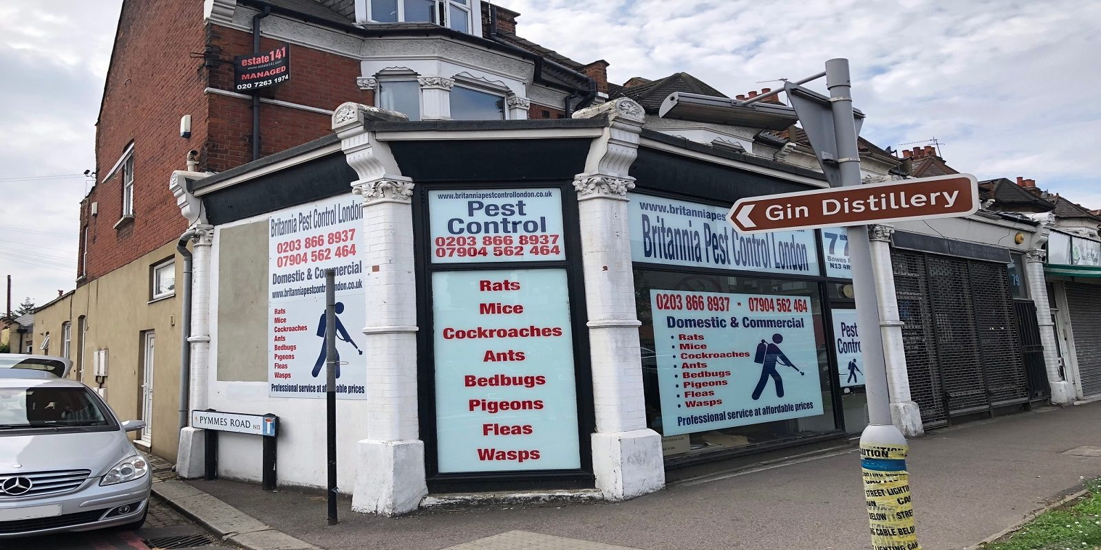 A1 LOCK-UP SHOP TO LET IN PALMERS GREEN