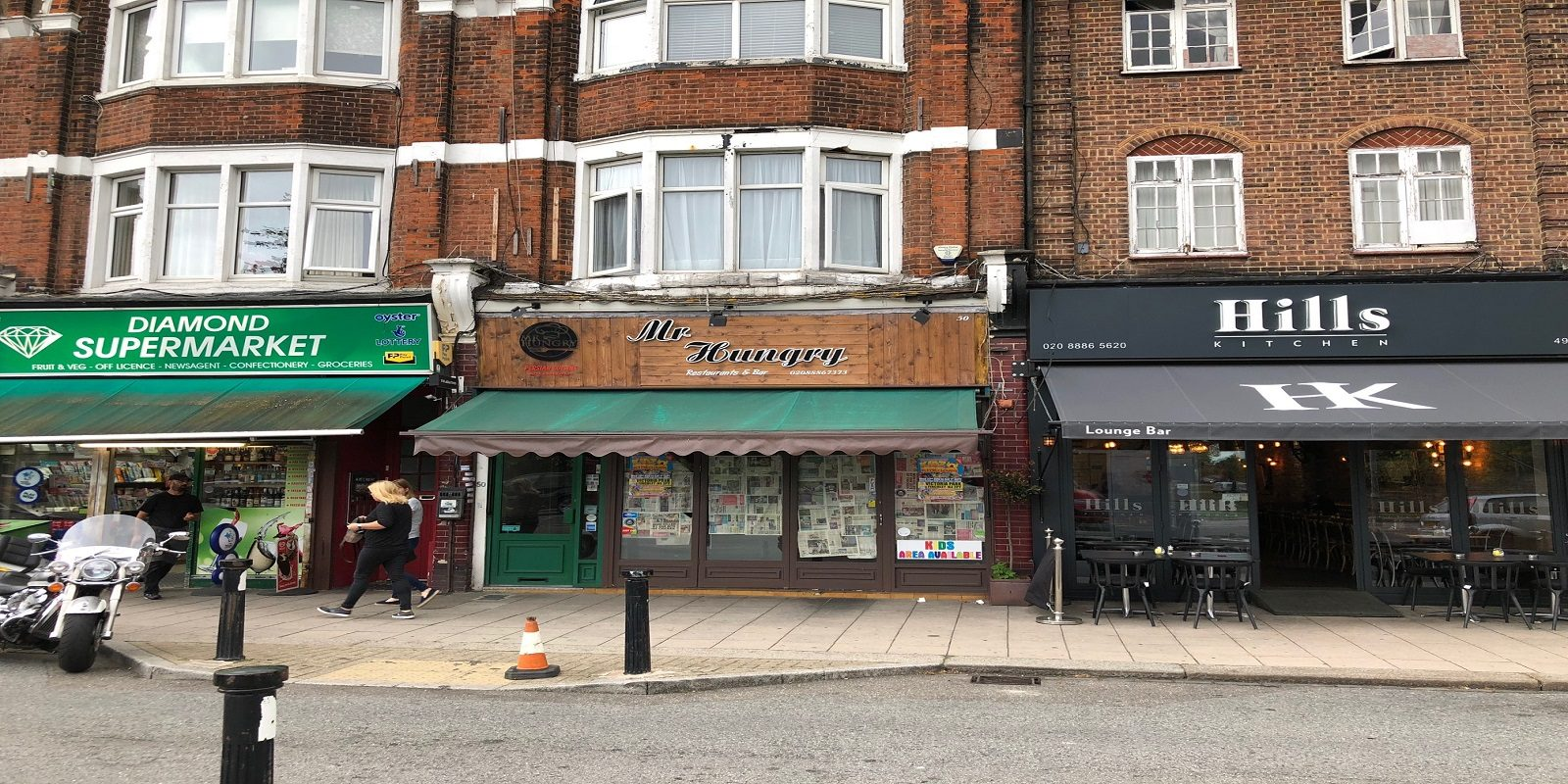 RESTAURANT TO LET IN SOUTHGATE