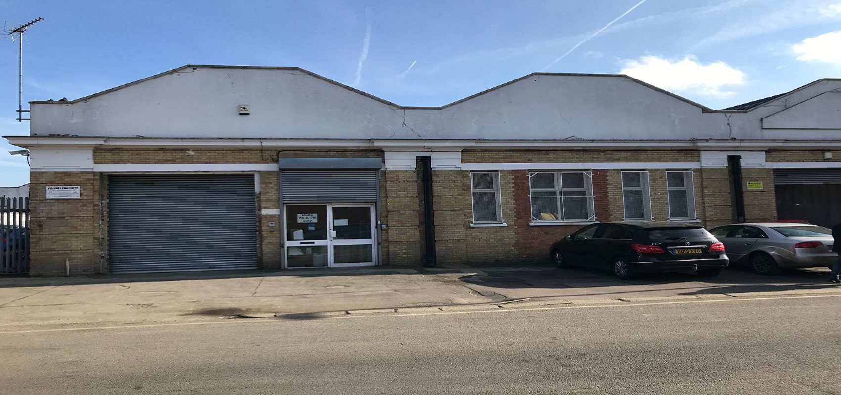 MODERN SINGLE STOREY FACTORY/ WAREHOUSE WITH PARKING – WEST MEWS TOTTENHAM N17