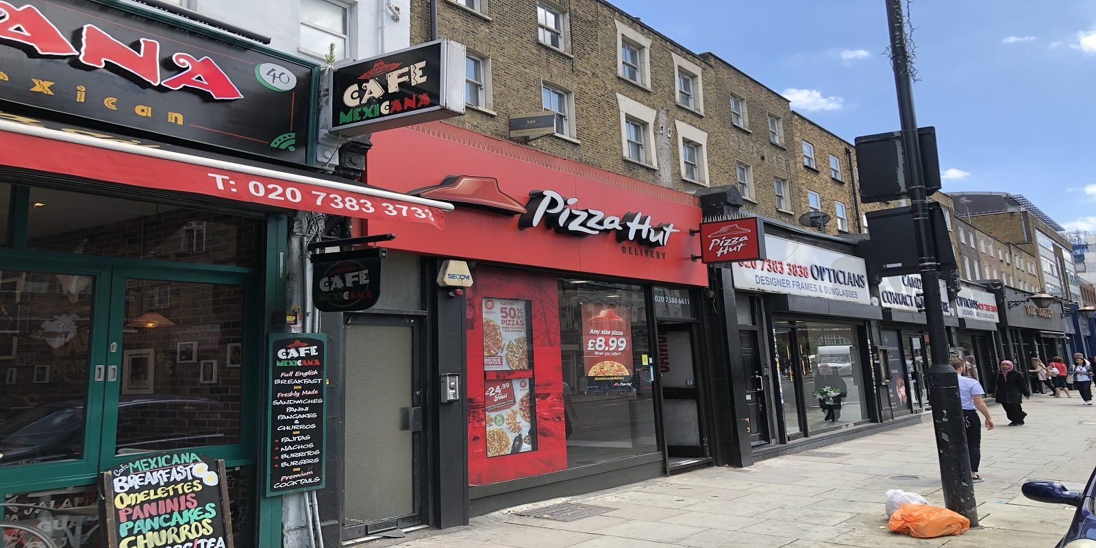A5 TAKEAWAY PREMISES TO LET IN CAMDEN