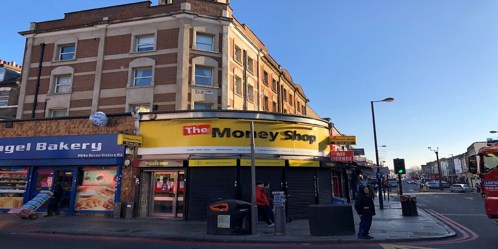 A1 / A2 USE – PRIME CORNER UNIT IN FINSBURY PARK – SHOP TO LET
