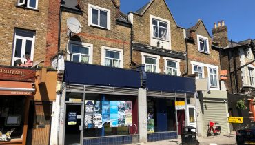 DOUBLE SHOP PREMISES TO LET: 6-8 Crouch Hill, London N4 4AU