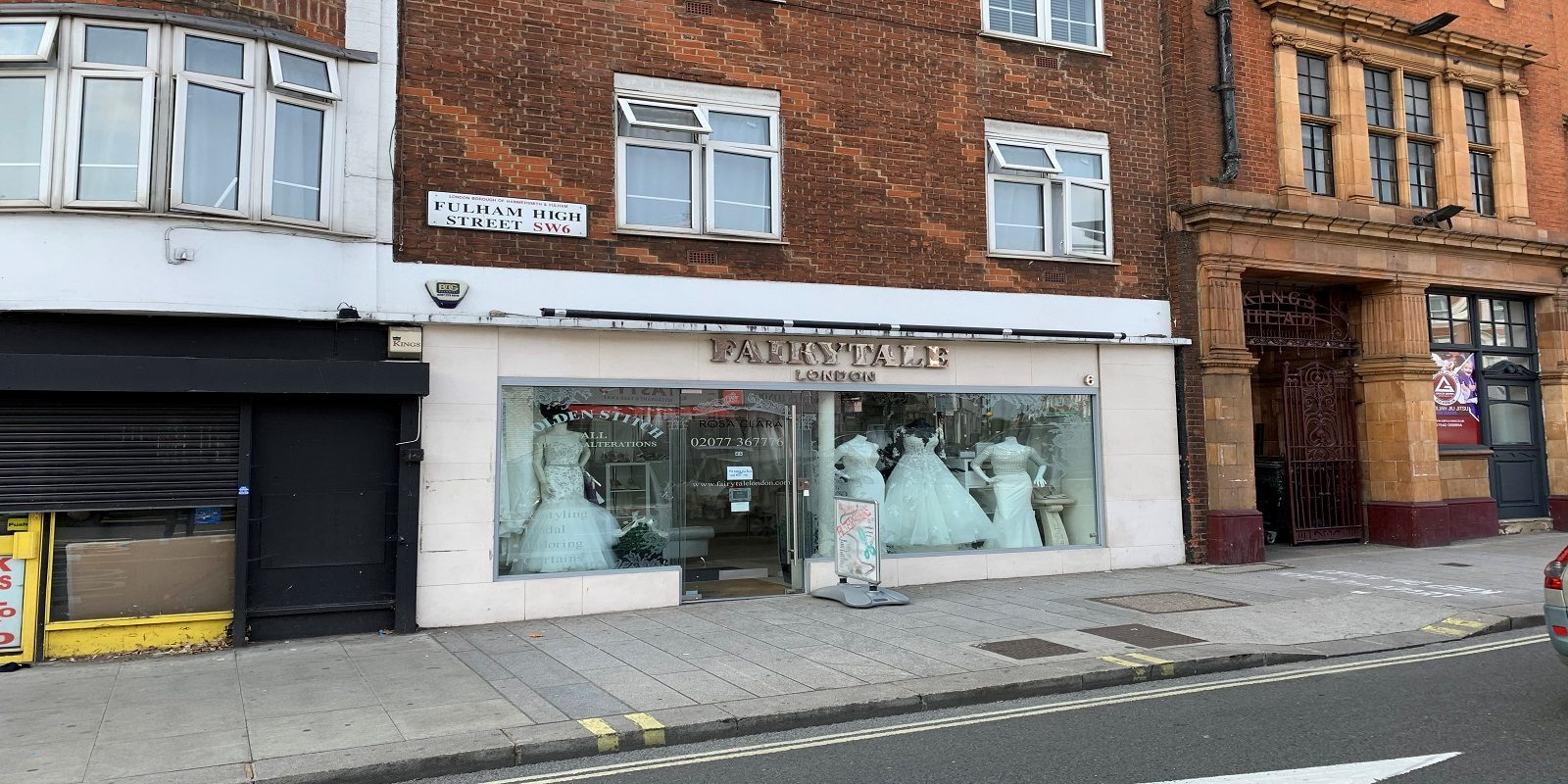 PRIME LOCATION SHOP FOR SALE IN FULHAM